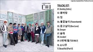 [FULL ALBUM] Wanna One (워너원) - 1집 1¹¹=1 (POWER OF DESTINY)