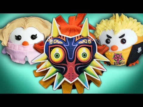 STEAL YOUR HEART! New Plushies And Pillows! Persona 5, Majora's Mask, Xenoblade, Kigus, And More!