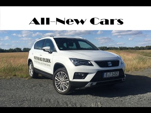 all new seat ateca xcellence 2 0 tdi 4drive exterior interior driving youtube. Black Bedroom Furniture Sets. Home Design Ideas