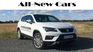 All new SEAT Ateca Xcellence 2.0 TDI 4Drive exterior, interior, driving