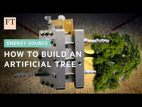 How to build an artificial tree | FT Energy Source