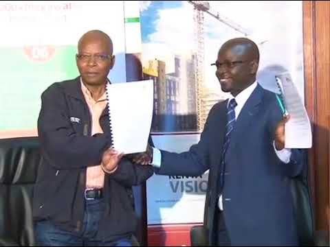 Innovations for Poverty Action IPA And Kenya Vision 2030 sign MOU