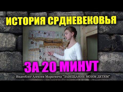 Видеоуроки по истории 6 класс история средних веков бойцов