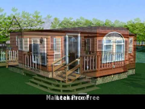 Park Model RV Trailer Shipping Container House As A Home