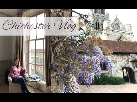 Влог из Чичестера: тур по комнате в Harbour Hotel, город, ультрамарафон Криса