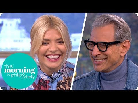Jeff Goldblum Has Holly and Phillip in Stitches!  This Morning
