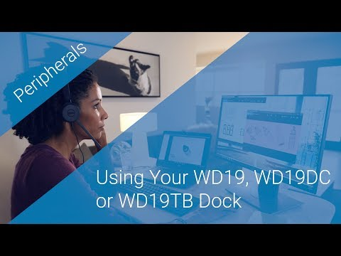 Using Your WD19, WD19DC or WD19TB Dock - YouTube