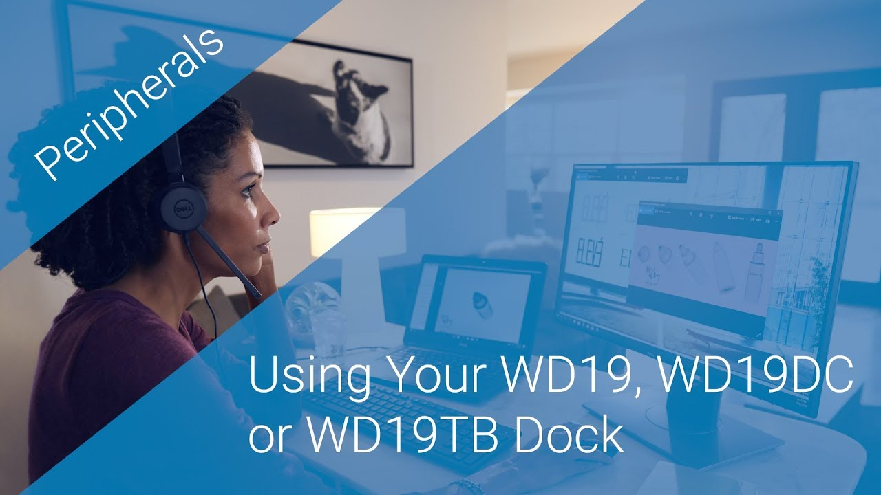 Using Your WD19, WD19DC or WD19TB Dock