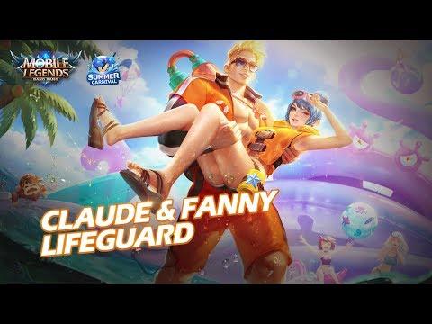 Claude Fanny New Skin Lifeguard Mobile Legends Bang