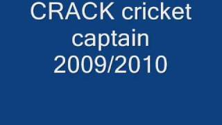 international cricket captain 2010 crack