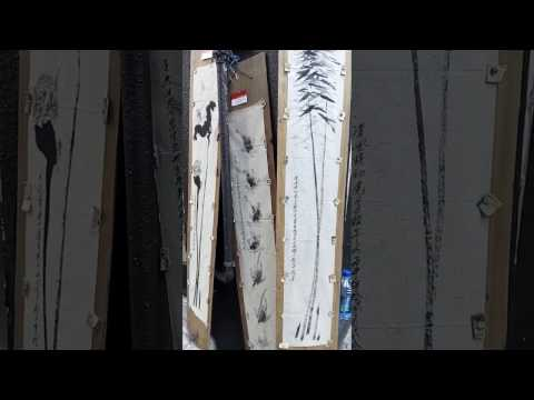 Mobilegrandarts Open-air Gallery/Grand So, Post-modern Chinese Ink Artist