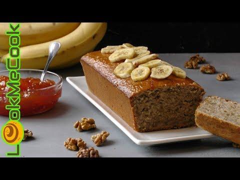 БАНАНОВЫЙ КЕКС С ГРЕЦКИМ ОРЕХОМ. Банановый хлеб◊BANANA BREAD WITH WALNUT