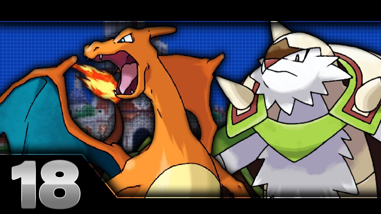 Pokemon X And Y Part 18 Chesnaught Amp Charizard Youtube