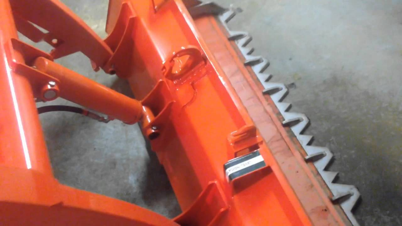 Kubota BX Bucket Modifications