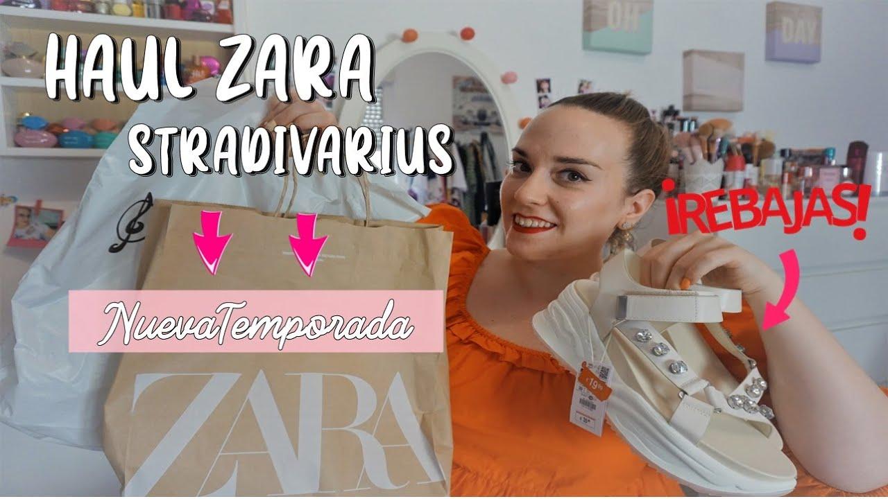 HAUL ZARA &  STRADIVARIUS NUEVA TEMPORADA y REBAJAS|| Las sandalias más CÓMODAS y BONITAS