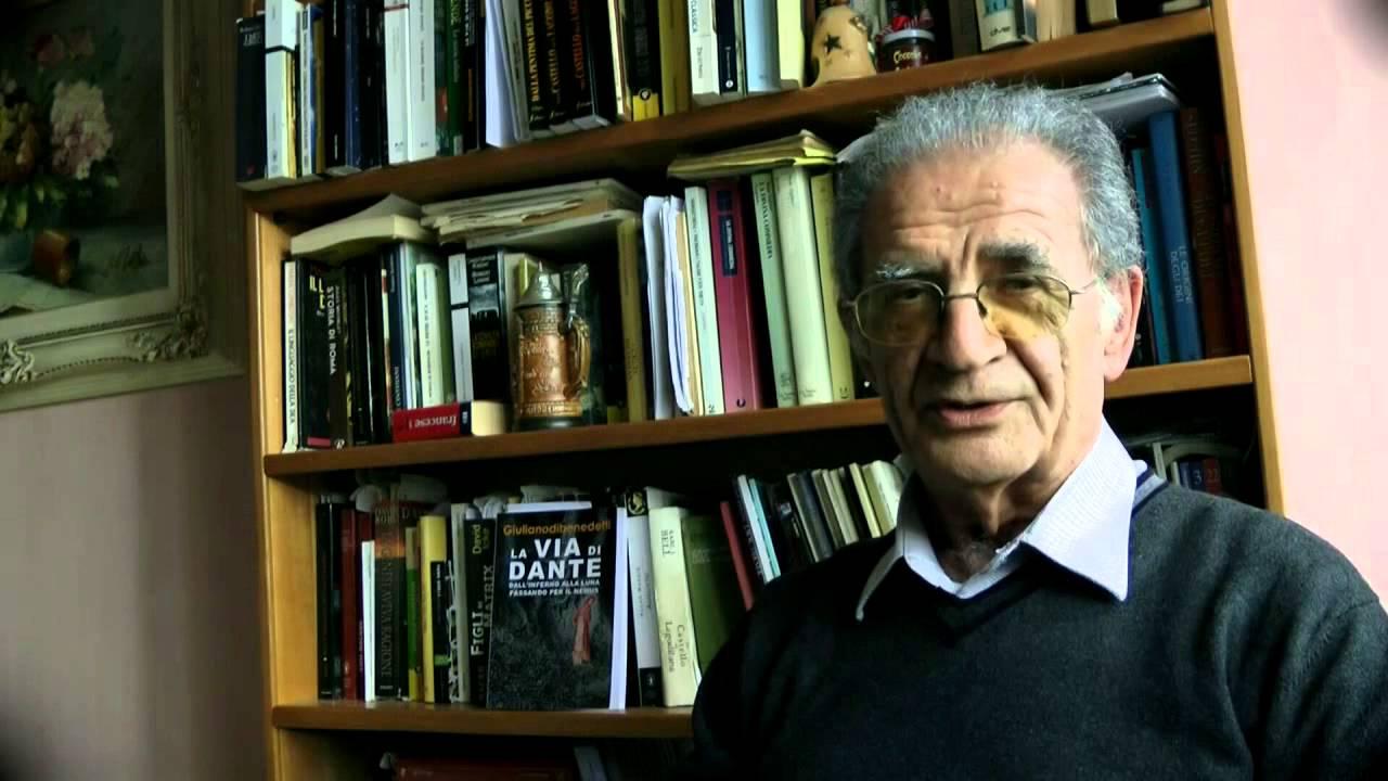 La Via di Dante - Intervista a Giuliano Di Benedetti - YouTube