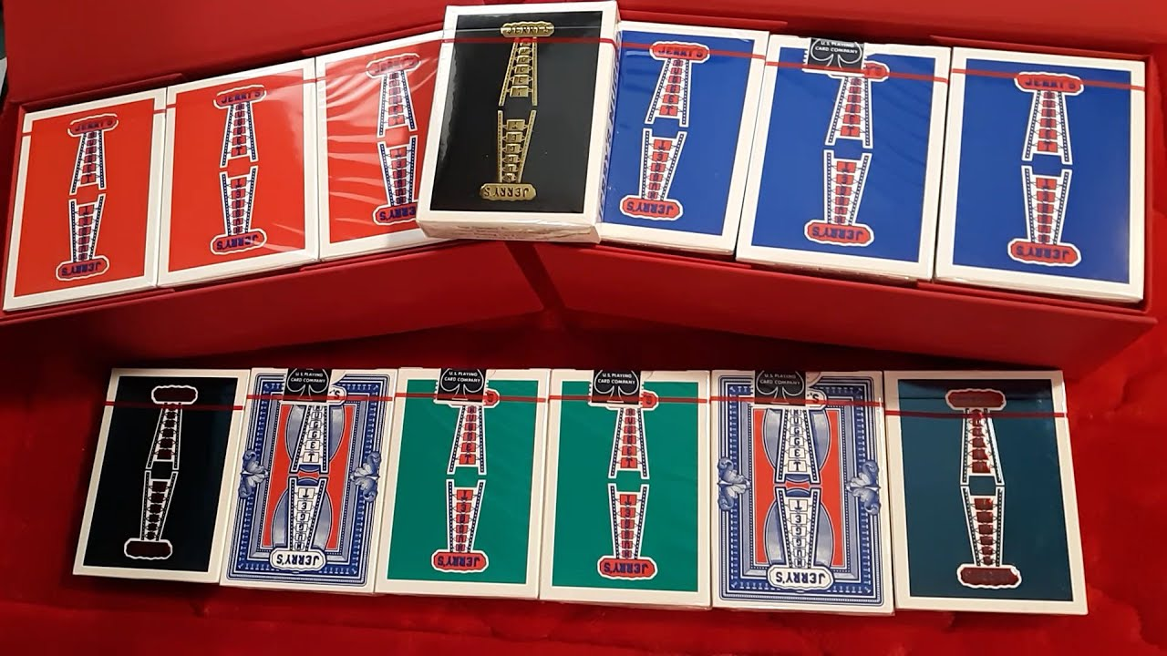 1 DECK Jerry/'s Nugget modern feel GAFF DECK 2019 reissue playing cards
