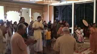 HH Loknath Swami Vyas Puja 2012 - ISKCON Houston