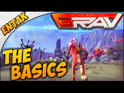 GRAV Gameplay ➤ SURVIVAL GUIDE - Beginners Guide & Tutorial - How To Survive [Part 1]