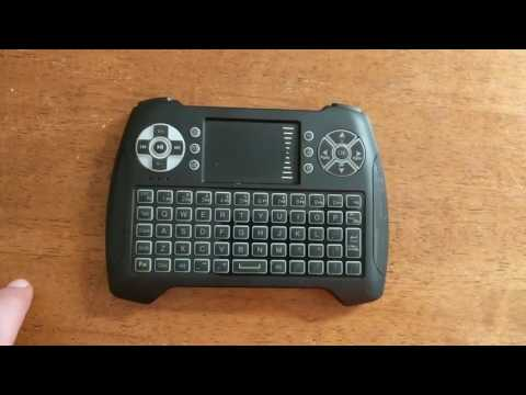 T16 Wireless Keyboard Remote Review