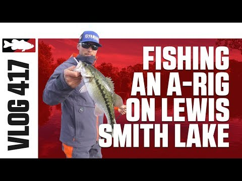 Justin Lucas on Lewis Smith Lake Pt. 4