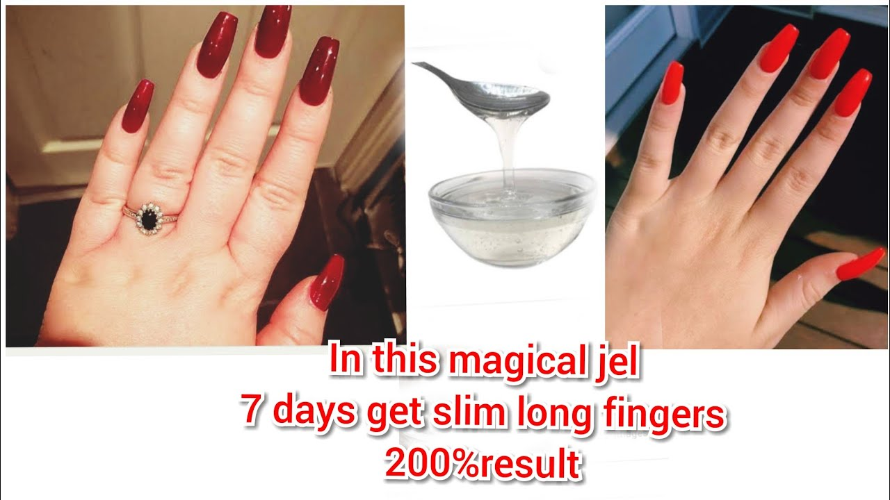 how to make your finger longer and thinner /how to lose, reduce
