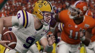 LSU vs Clemson Full Game Highlights   2020 College Football National Championship Game (NCAA 14)
