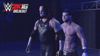 WWE 2K16 Zig Zag Breakouts!