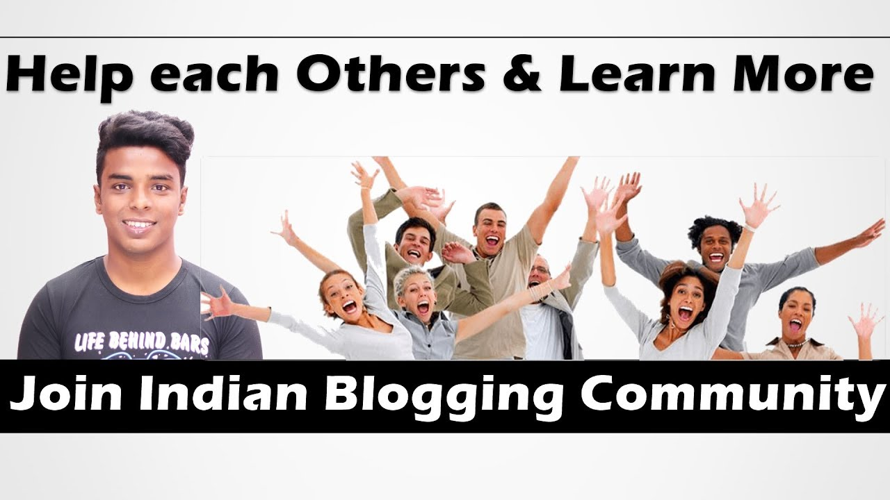 Join and Make Indian Blogging Community