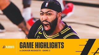 HIGHLIGHTS | Anthony Davis (31 pts, 9 reb, Game Winning Buzzer Beater) vs Denver Nuggets