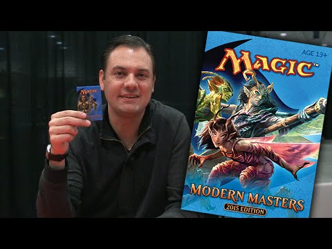 Modern Masters 2015 Crack-A-Pack #1 with Marshall Sutcliffe at Grand Prix Las Vegas