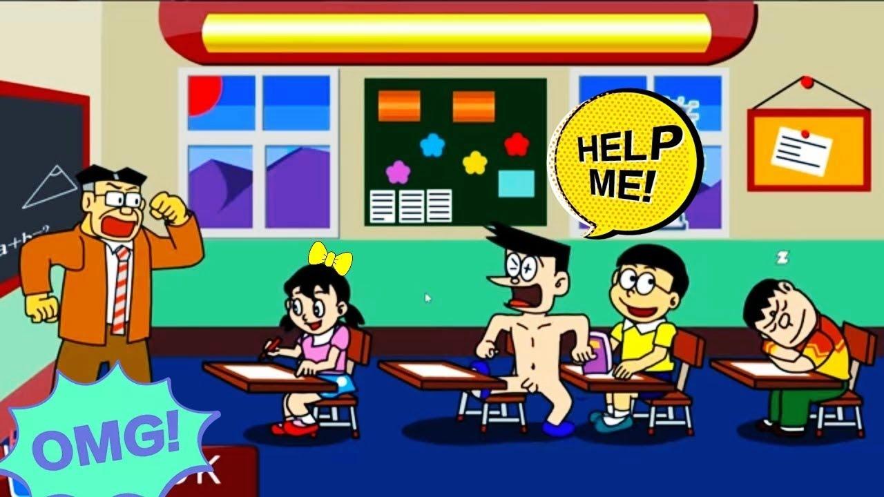 Doraemon giúp Nobita trả thù Chaien và Xeko – chơi game Doremon