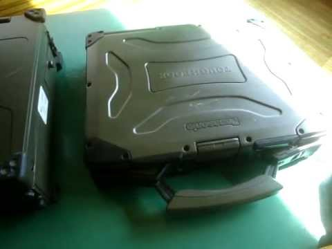 Miltope vs. Panasonic CF-29  Toughbook Military Computer Rugged Laptop Part 1 of 4