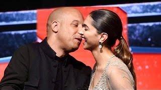 Vin Diesel & Deepika Padukone KISS In Public - Deepika's Reaction Will Blow Your Mind