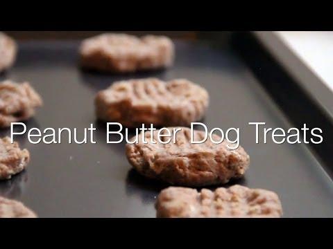 Video: DIY Peanut Butter Dog Cookies
