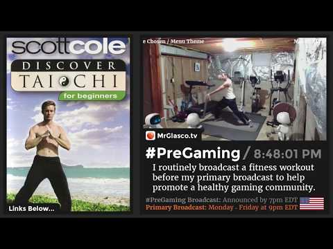 💪 #PreGaming: Scott Cole Discover Tai Chi For Beginners Workout