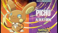 PIKACHU and PICHU Alola Form!!