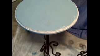 Coffee Table End Tables  That Pop!  Video #1