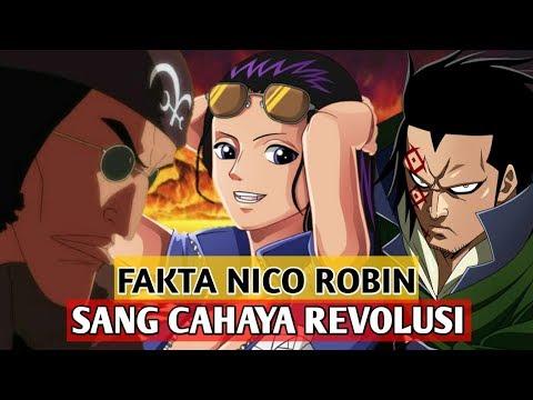 10 FAKTA NICO ROBIN - SANG CAHAYA REVOLUSI