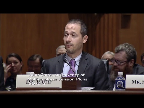 Joint Select Committee on Solvency of Multiemployer Pension Plans Live Stream