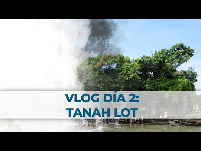 2 Little Divers Bali Vlog Día 2: Tanah Lot