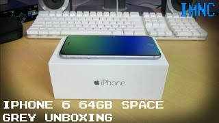 iPhone 6 Space Grey (64GB) Unboxing | IMNC
