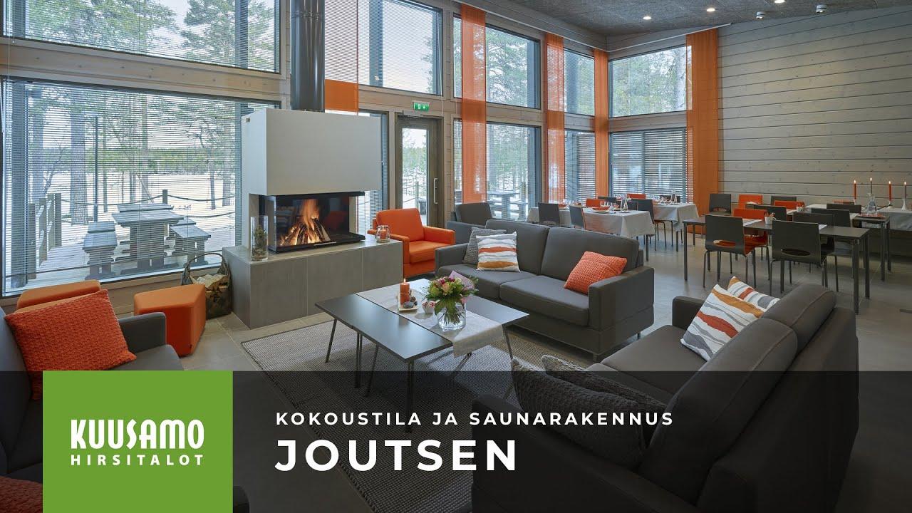 Kuusamo Hirsitalot: Kokoustila ja saunarakennus Joutsen