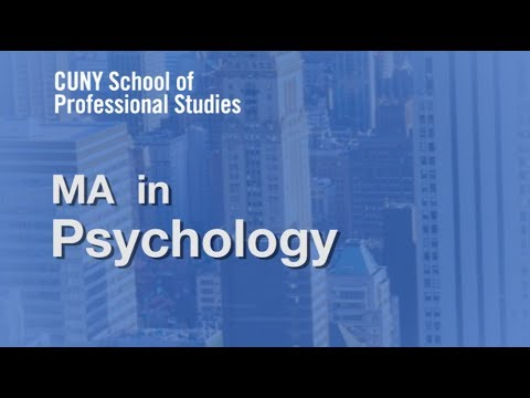 Information Session: MA in Psychology