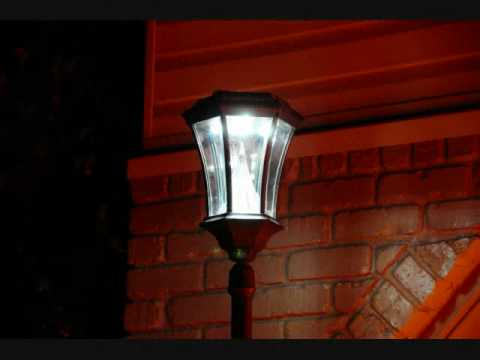 Lampadaire ext rieur youtube for Lampadaire exterieur ancien