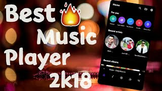 Best Music player App for Android 2018🎧