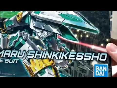 Let's Talk About Unboxing And Review SDBD RX-Zeromaru (Shinki Kessho)