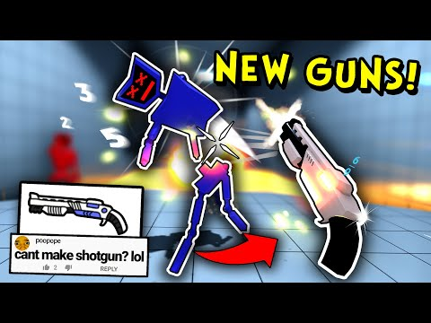 Adding New Weapons to my Game!