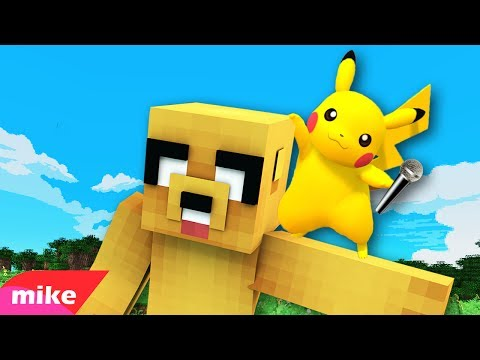 PIKACHU MIKE! 🎤 PARODIA MUSICAL MINECRAFT | Zedd - Beautiful Now ft. Jon Bellion [ESPECIAL 500.000]