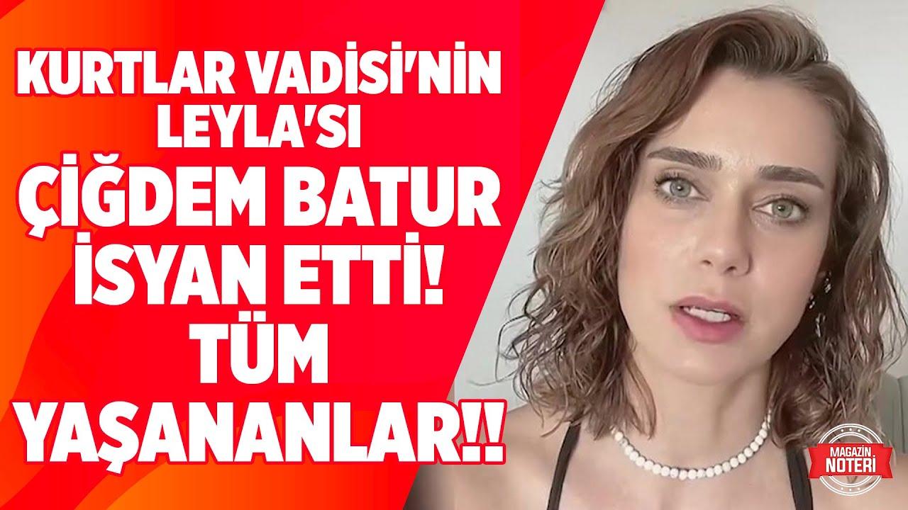 Taciz Skandalıyla Başı Dertte olan Çiğdem Batur İsyan Etti!! Yaşananları Magazin Noteri'ne Anlattı!